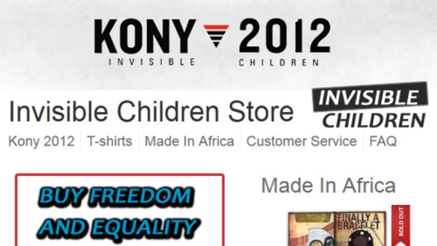 Kony 2012 Invisible Children